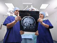MRI Guided Brain Surgery
